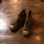nigel cabourn Military Shoe High Top