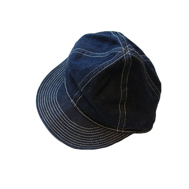 wildhogs selvage denim N-3 cap (one wash)