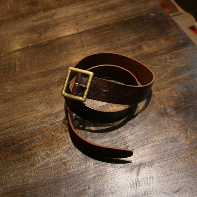 visvim plain belt
