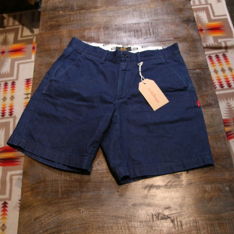 wtaps denim shorts