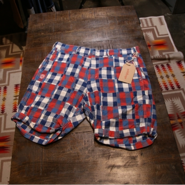 neighborhood patch shorts