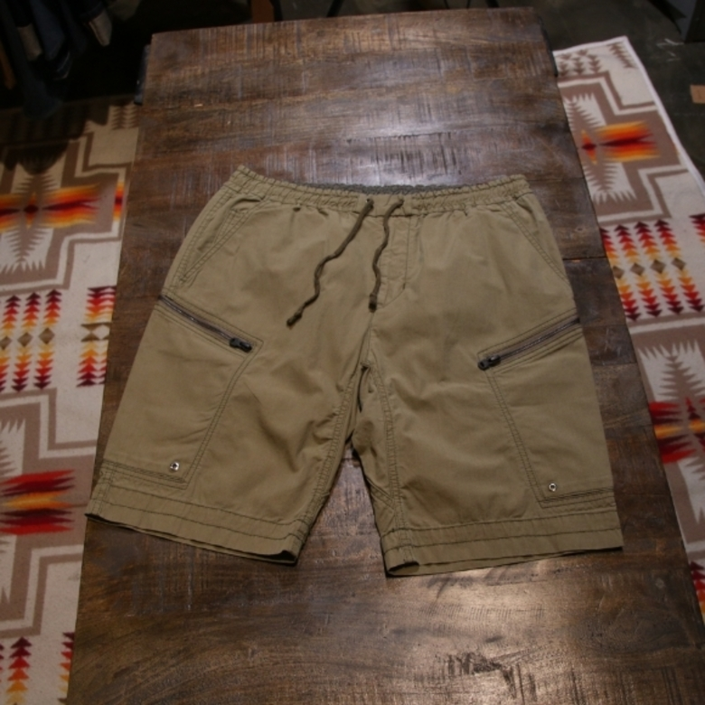 white mountaineering military shorts