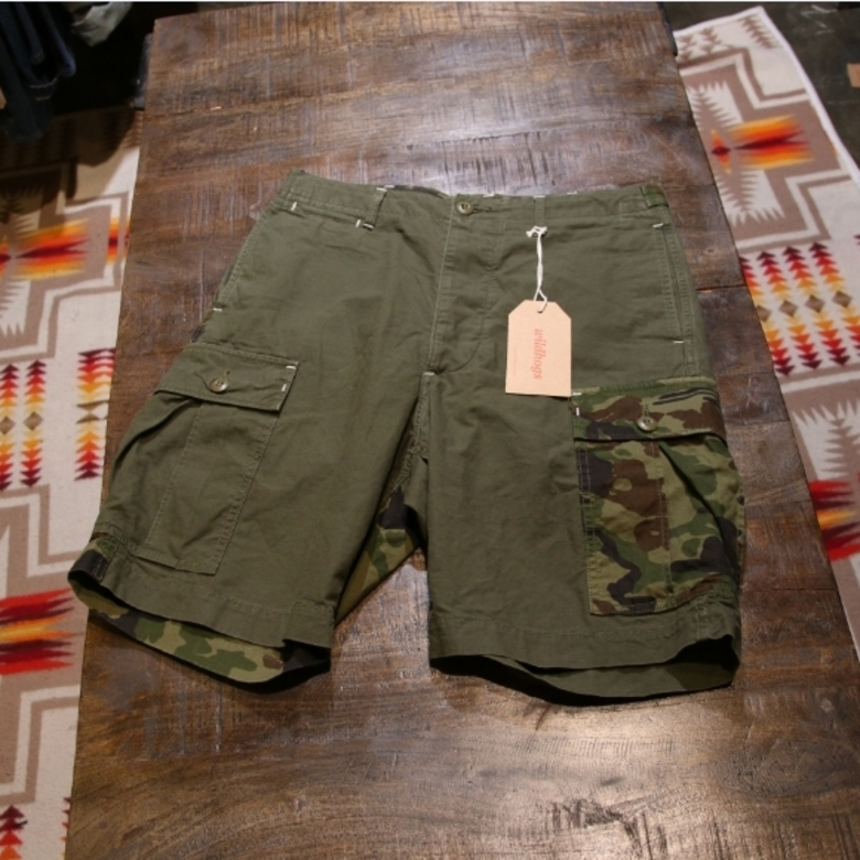 J.S.Homestead military shorts