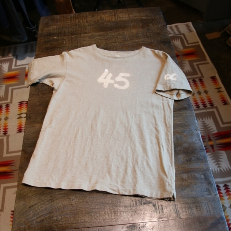 45rpm logo dyed tee