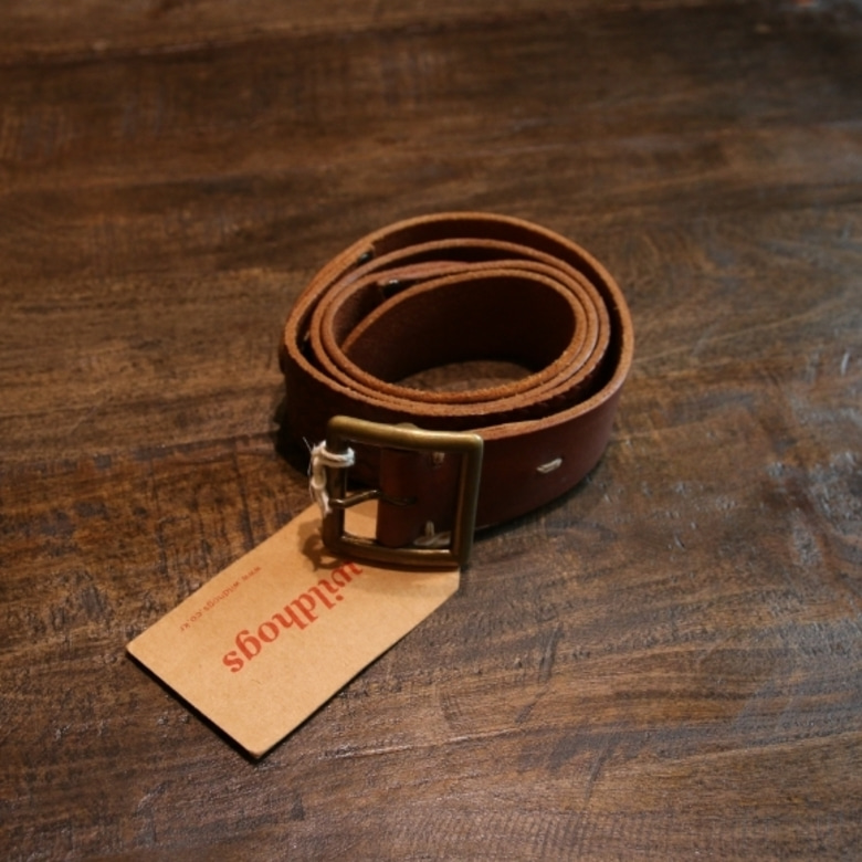 visvim plain carving belt