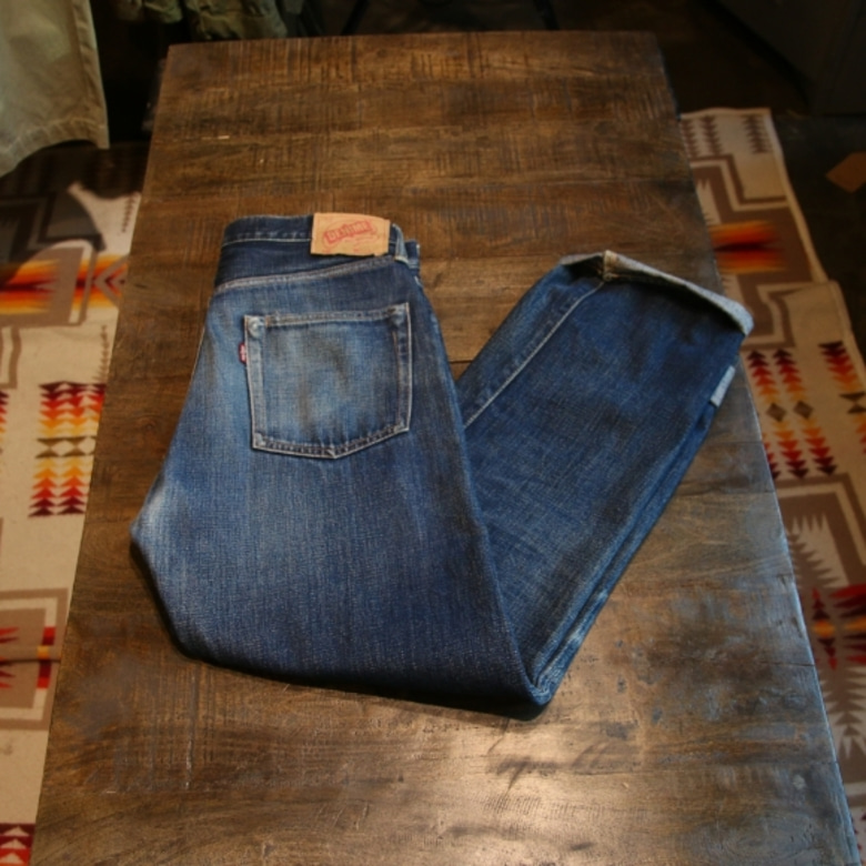 denime selvage denim pants