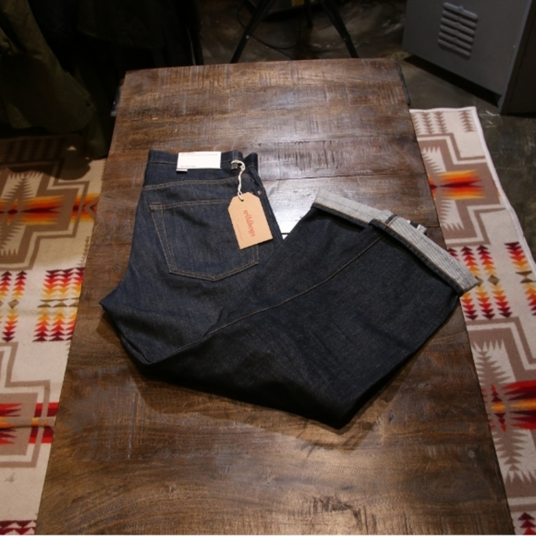 wtaps 16aw denim trousers
