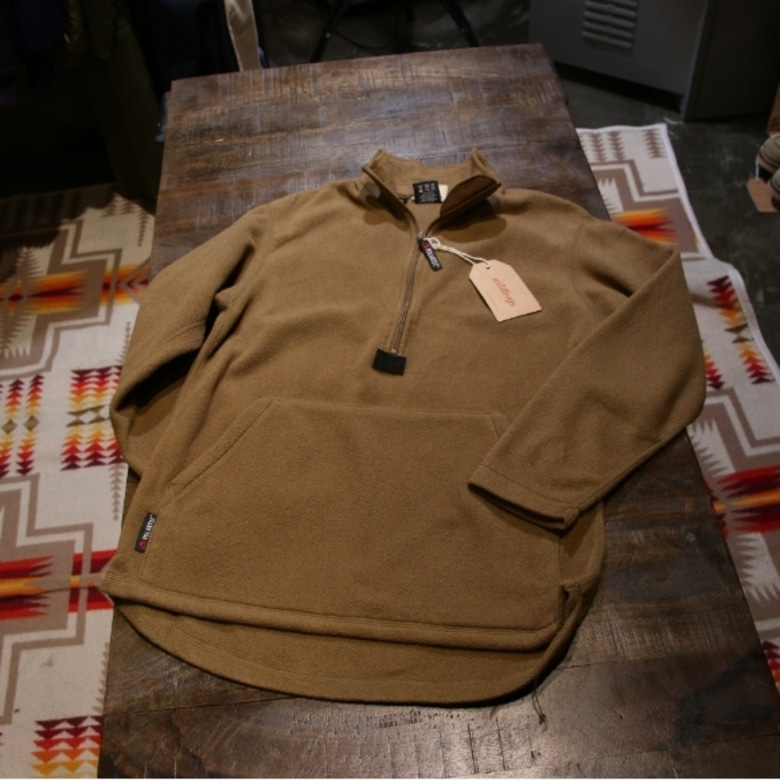 usmc pullover fleece coyote