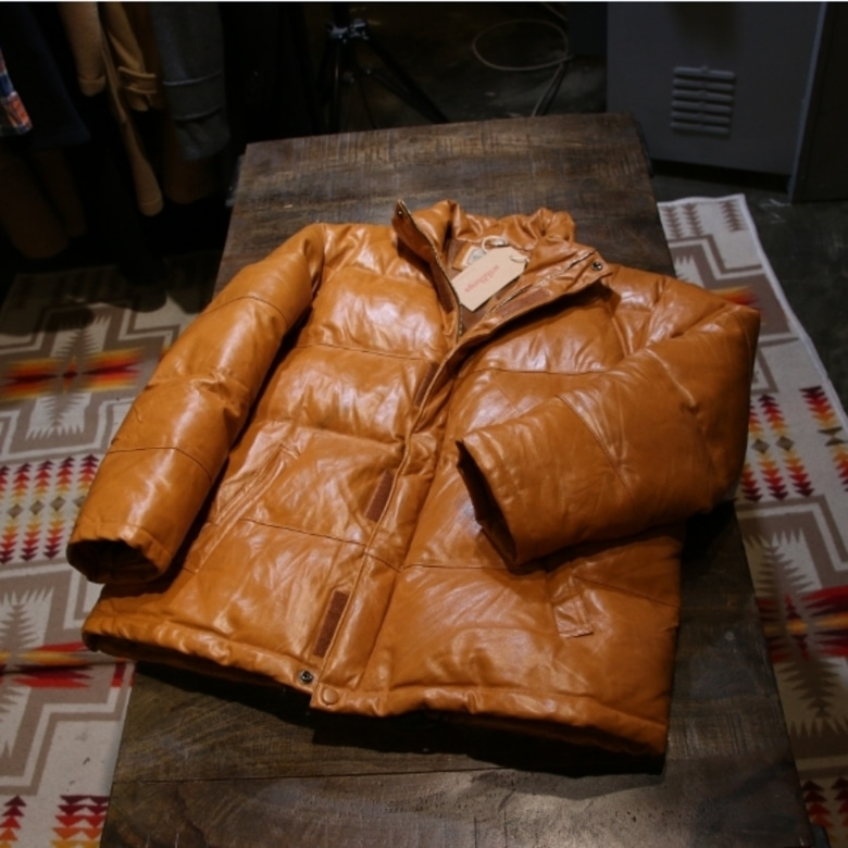 canyon DE chelly leather down parka