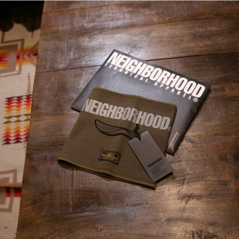 neighborhood belt drive/an-cap neck warmer