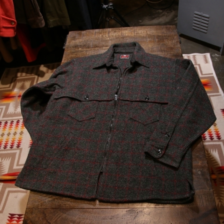 johnson woolen mills wool jacket
