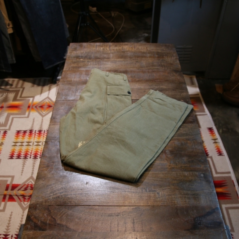 WAREHOUSE MILITARY CARGO PANTS