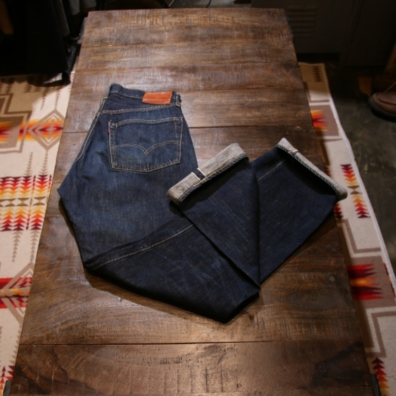full count selvage denim pants