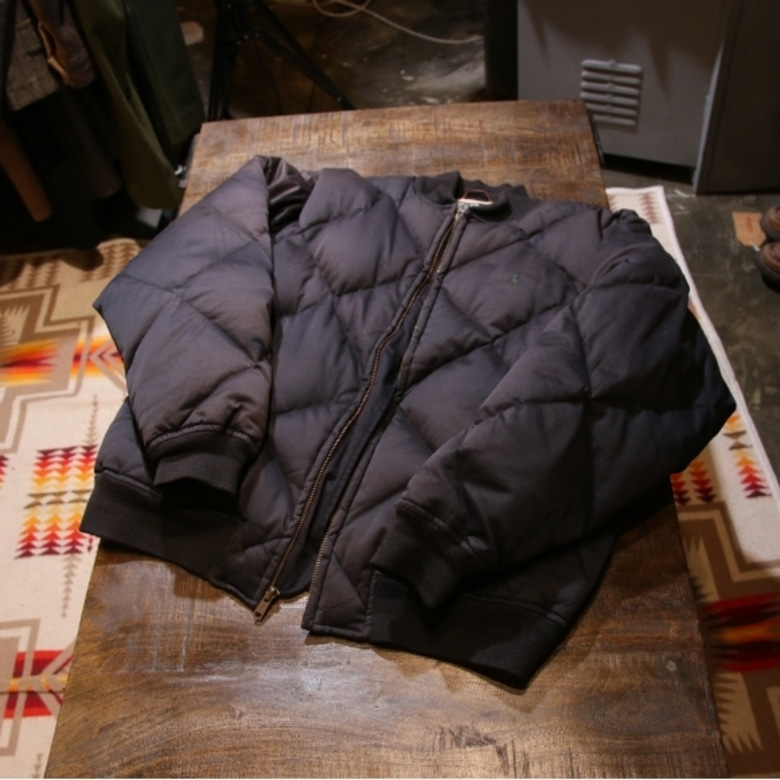 polo quilting down parka
