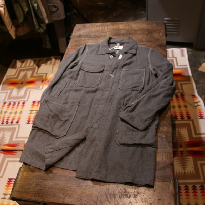 engineered garments work single long jacket