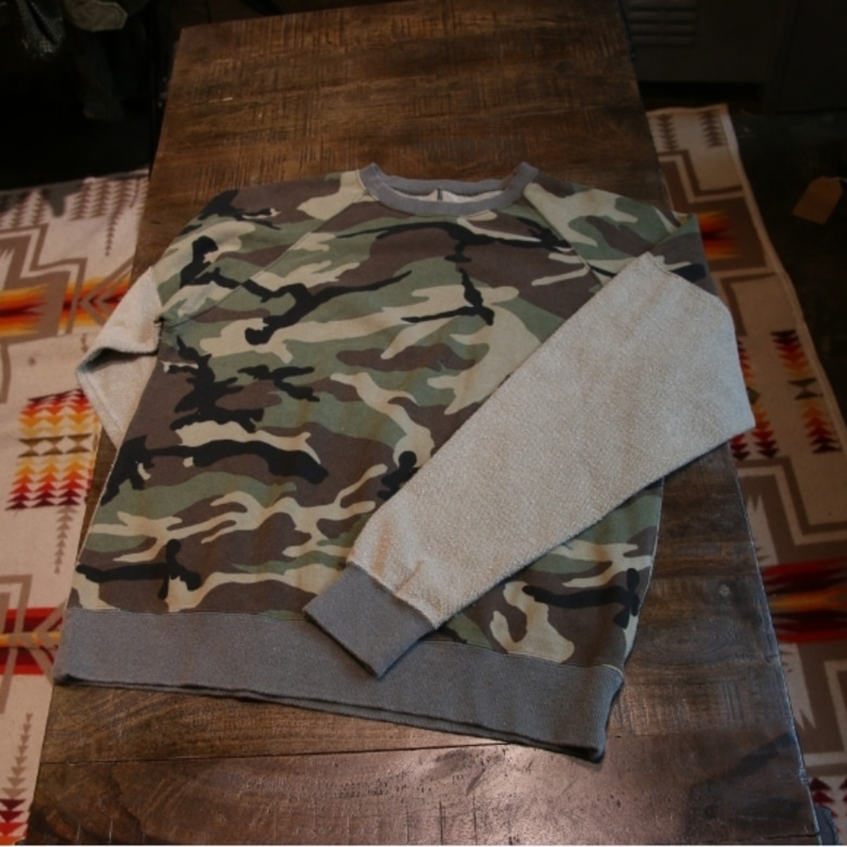 sophnet DAMAGED INSIDE OUT CREW NECK SWEAT