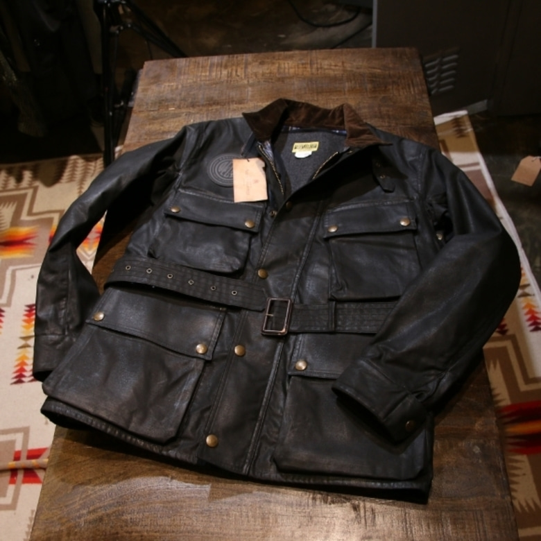 Deus x Addict Oiled Lined Jacket