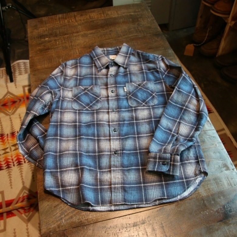 cootie flannel check shirt
