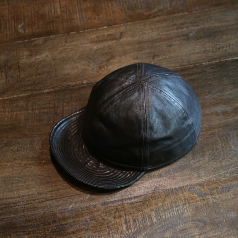 the realmccoys LEATHER MECHANIC CAP