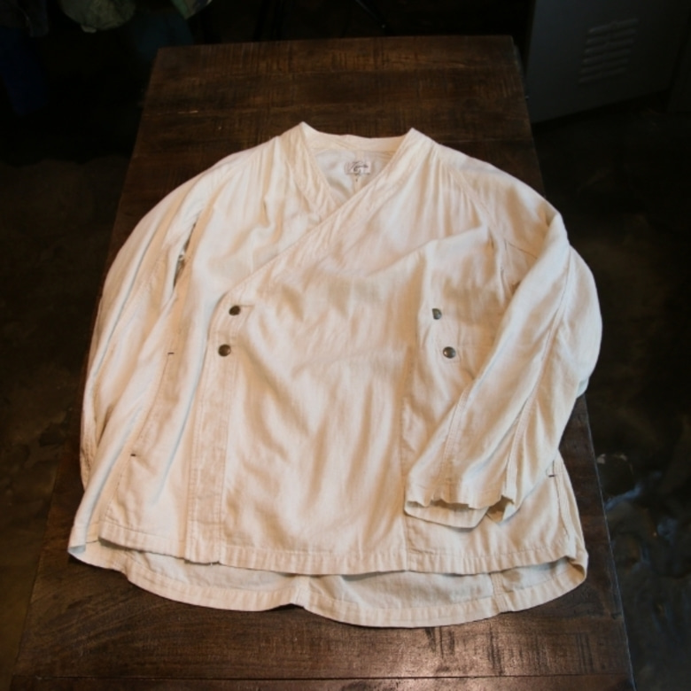 needles linen samue jacket