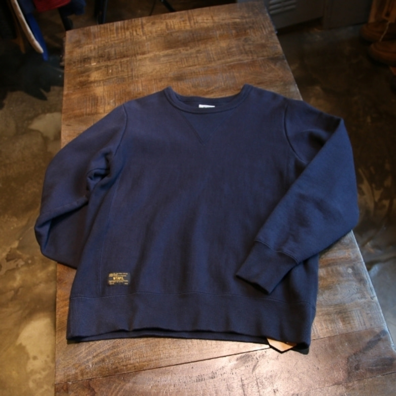 wtaps hellweek crew neck sweater
