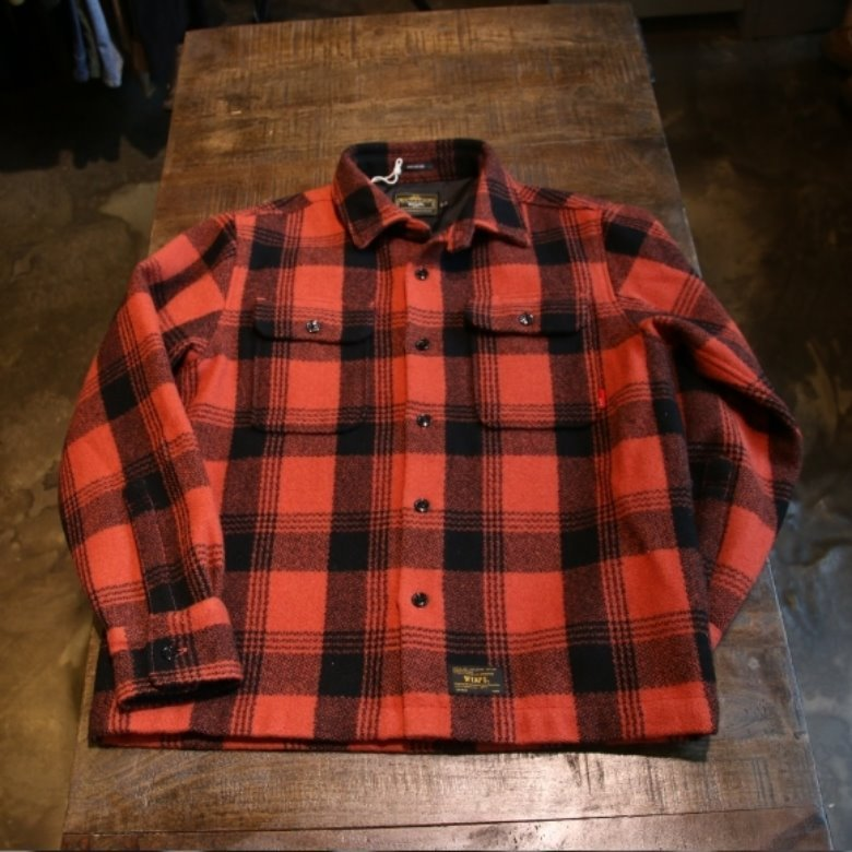 wtaps vatos wool check shirts