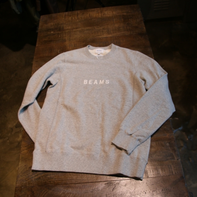 beams logo sweat shirt