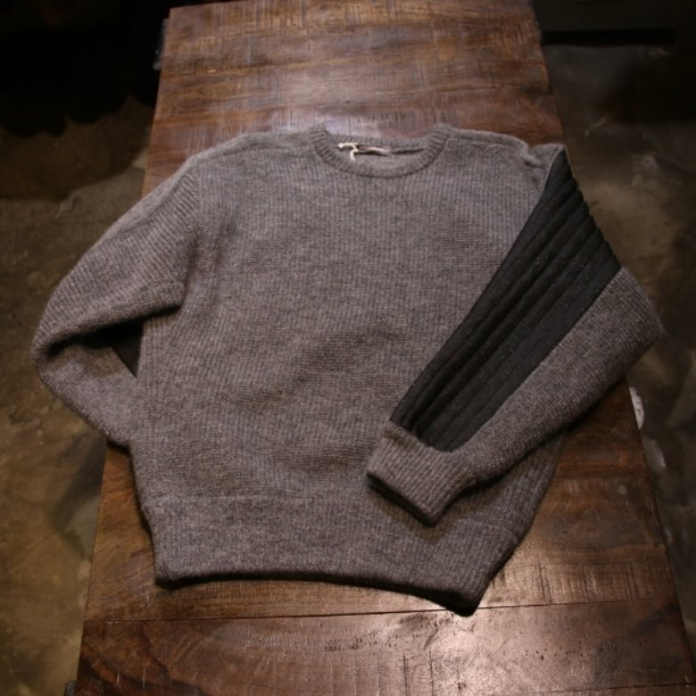 isseymiyake man wool knit