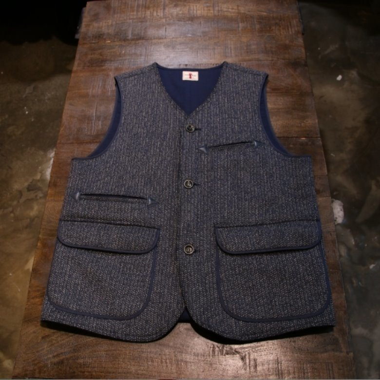 samurai beach cloth vest