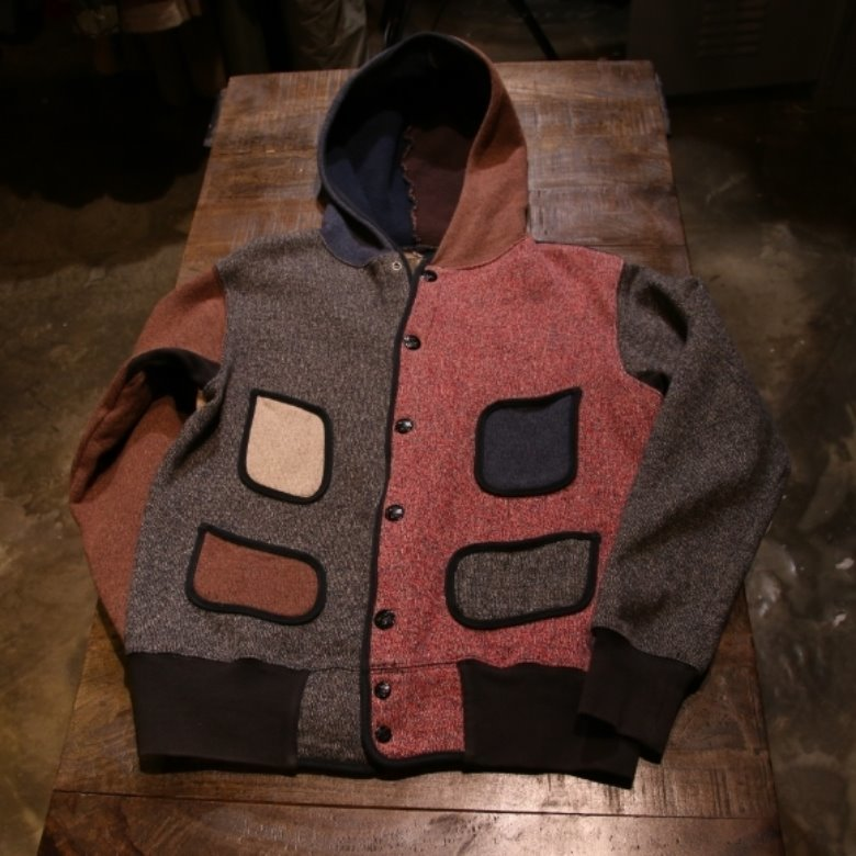 kapital beach cloth hood jacket