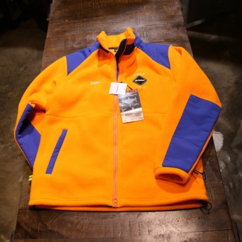 FCRB POLARTEC FLEECE STAND COLLAR BLOUSON