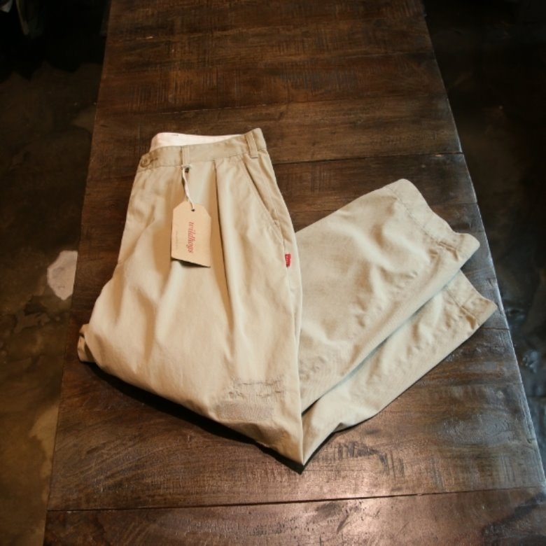 beams made in japan Two Pleat pants