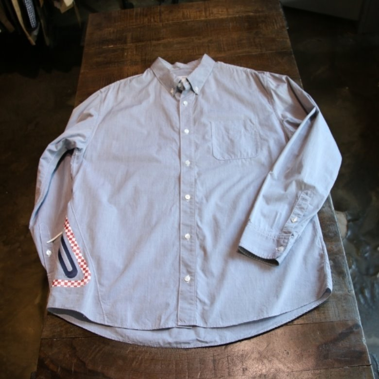 visvim button down back pocket shirt (XL)