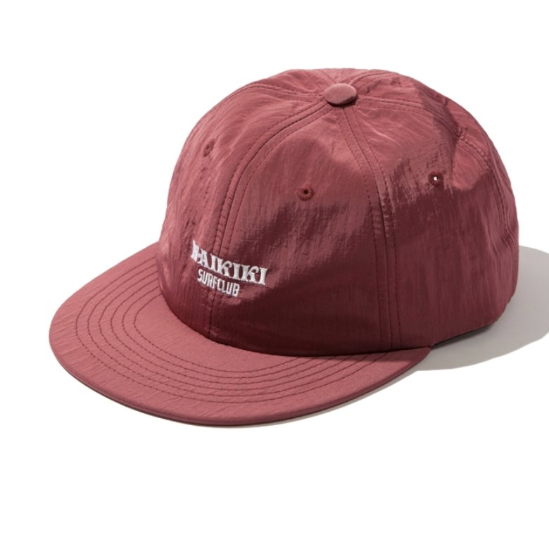 wildhogs waikiki surf club cap (WINE)
