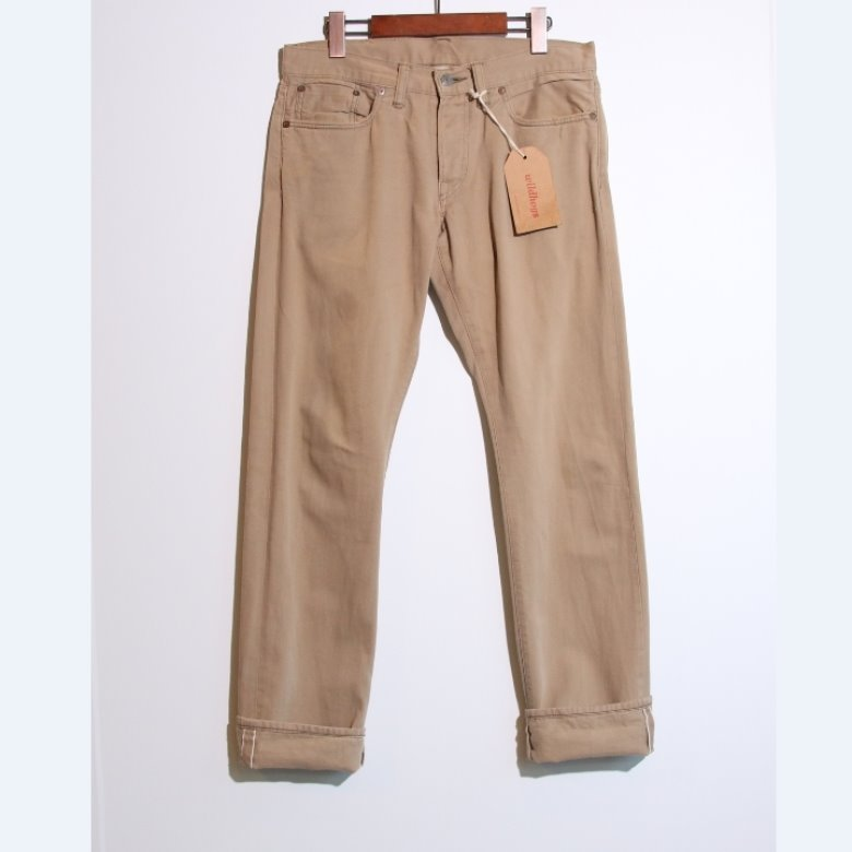RRL slim fit selvage pants (31)