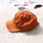 KAPITAL orange work cap