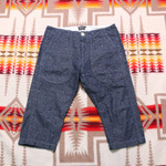 sunny sports pattern 1/2 pants