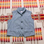 heritage research chambray vest