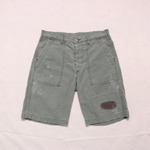 spellbound fatigue patch work shorts