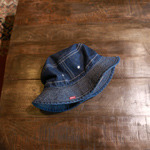 momotaro denim bucket hat