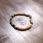 mix turquoise hand made bracelet
