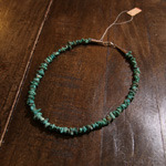 turquoise&silver handmade necklace(short type)
